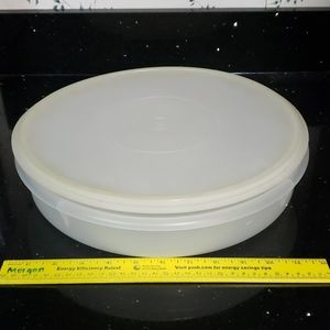 Vintage Tupperware Cupcake Bowl